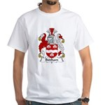 Bonham Family Crest White T-Shirt