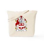 Bonham Family Crest Tote Bag