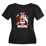 Bonham Family Crest Women's Plus Size Scoop Neck D