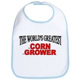 """The World's Greatest Corn Grower"" Bib"