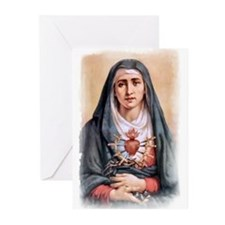 Sorrowful Mother Greeting Cards (Pk of 20)
