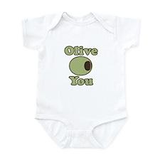 Olive You Onesie