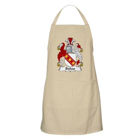 Bishop Family Crest BBQ Apron