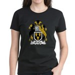 Birket Family Crest Women's Dark T-Shirt