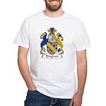 Bingham Family Crest White T-Shirt