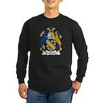 Bingham Family Crest Long Sleeve Dark T-Shirt