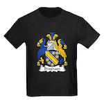 Bingham Family Crest Kids Dark T-Shirt