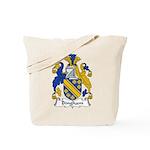 Bingham Family Crest Tote Bag