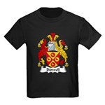 Bidwell Family Crest Kids Dark T-Shirt