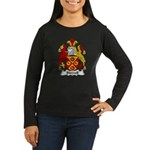 Bidwell Family Crest Women's Long Sleeve Dark T-Sh