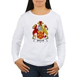 Bidwell Family Crest Women's Long Sleeve T-Shirt