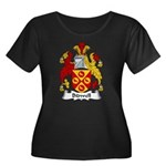 Bidwell Family Crest Women's Plus Size Scoop Neck