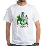 Biddulph Family Crest White T-Shirt