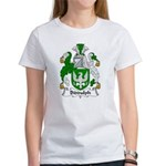 Biddulph Family Crest Women's T-Shirt