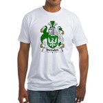 Biddulph Family Crest Fitted T-Shirt