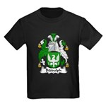 Biddulph Family Crest Kids Dark T-Shirt