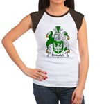 Biddulph Family Crest Women's Cap Sleeve T-Shirt
