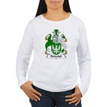 Biddulph Family Crest Women's Long Sleeve T-Shirt