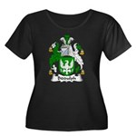 Biddulph Family Crest Women's Plus Size Scoop Neck
