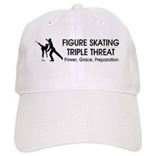 TOP Figure Skating Slogan Baseball Cap