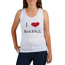 """""""I Love Bikers"""" Women's Tank Top"""
