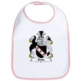 Betts Family Crest  Bib