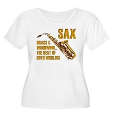Sax - The Best of Both Worlds T-Shirt