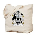 Bell Family Crest   Tote Bag