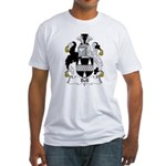 Bell Family Crest   Fitted T-Shirt