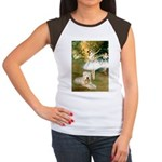 Dancer1/Wheaten T Women's Cap Sleeve T-Shirt