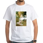 Dancer1/Wheaten T White T-Shirt