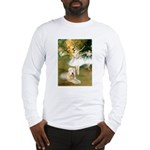Dancer1/Wheaten T Long Sleeve T-Shirt