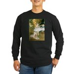 Dancer1/Wheaten T Long Sleeve Dark T-Shirt