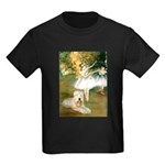 Dancer1/Wheaten T Kids Dark T-Shirt
