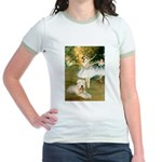 Dancer1/Wheaten T Jr. Ringer T-Shirt