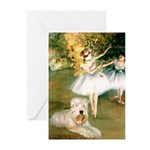 Dancer1/Wheaten T Greeting Cards (Pk of 20)