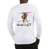 Lineman Workin it Hot Long Sleeve T-Shirt