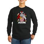 Becher Family Crest Long Sleeve Dark T-Shirt