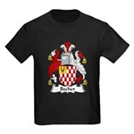 Becher Family Crest Kids Dark T-Shirt