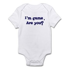 I'm game Infant Bodysuit