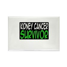 'Kidney Cancer Survivor' Rectangle Magnet