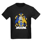 Baylis Family Crest  Kids Dark T-Shirt