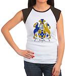 Baylis Family Crest  Women's Cap Sleeve T-Shirt