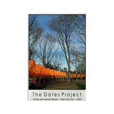 Christo The Gates souvenir magnet