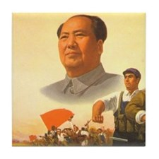 Maoist Revolution Tile Coaster