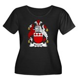 Barrett Family Crest Women's Plus Size Scoop Neck