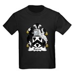 Baron Family Crest  Kids Dark T-Shirt