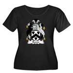 Baron Family Crest  Women's Plus Size Scoop Neck D