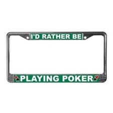 Unique D d License Plate Frame