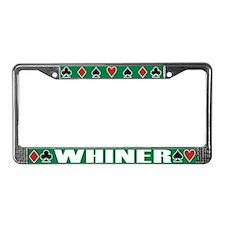 Cute Diamond License Plate Frame